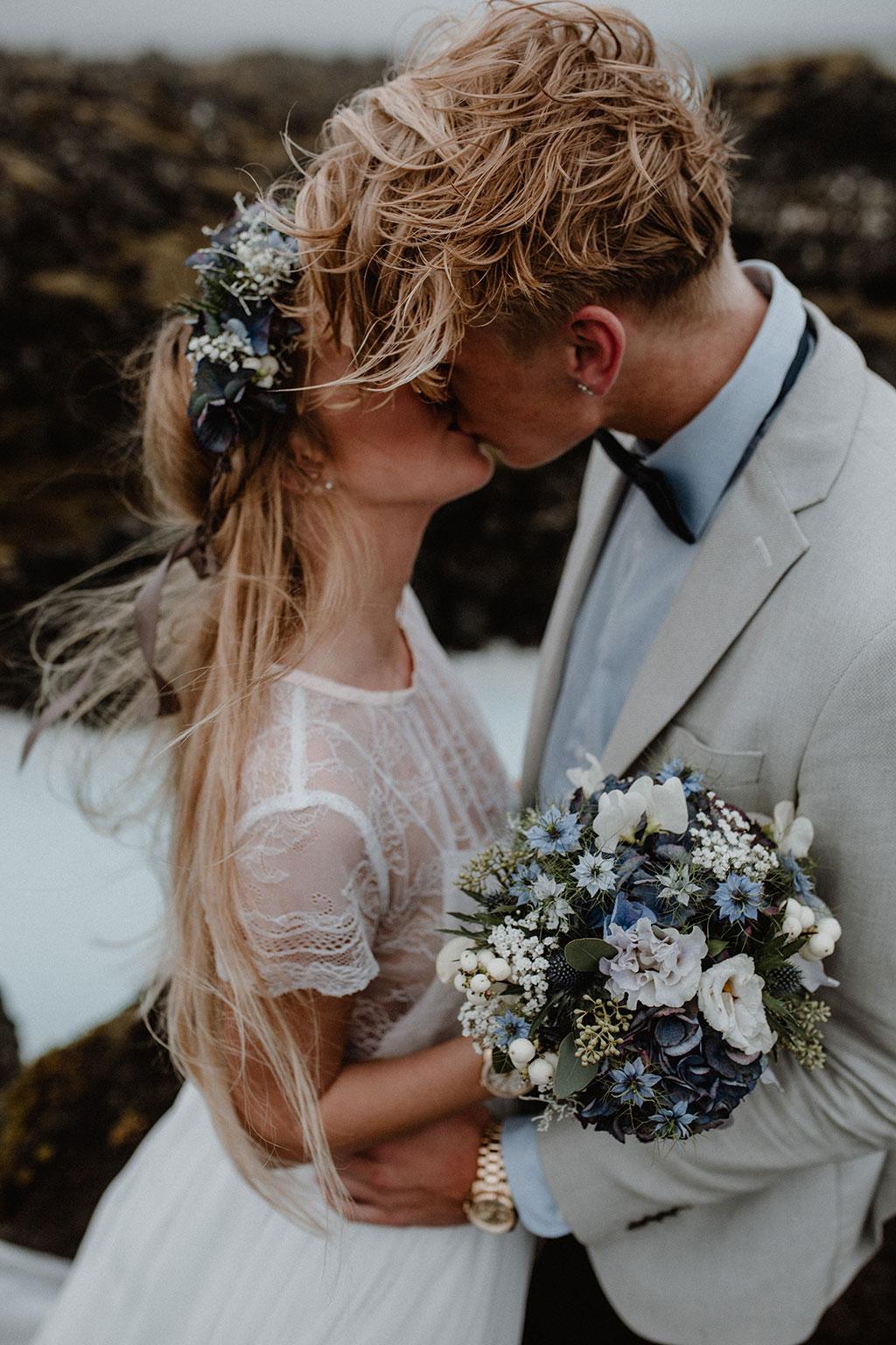 Hochzeitsfotos Island | Erna & Tristan